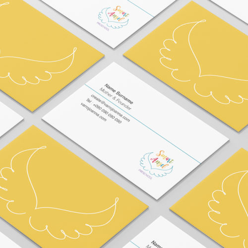 Smart Angel Business Cards